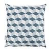 Opulent Velvet Cushion - Cube Grey