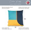Opulent Velvet Cushion - Blue Harmony