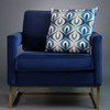 Opulent Velvet Cushion - Betty Blue