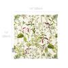 Velvet Seat Pads - Welsh Meadow Cream