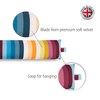Draught Excluder - Pixel Stripes