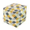 Cube Pouffe - Scandi Hills Mustard