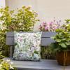 Water Resistant Garden Cushion - Welsh Meadow Cream