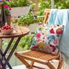 Water Resistant Garden Cushion - Midsummer Morning