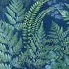 Water Resistant Garden Cushion - Ferns