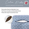 Bolster Cushion - Japanese Tile