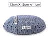 Zafu Traditional Pleated Cushion - Japanese Tile