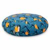 Zafu Traditional Pleated Cushion - Swallows