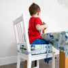 Children's Dinosaur Booster Cushions - Dino Days Blue