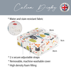 Children's Animal Booster Cushions - Woodland Friends Cream