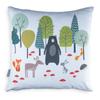 Children's Animal Cushions - Woodland Friends Blue