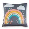 Children's Cushions - Bee a Rainbow Grey