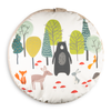 Children's Animal Floor Cushion / Beanbag Seat - Woodland Friends Cream
