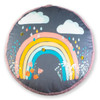 Children's Floor Cushion / Beanbag Seat - Bee a Rainbow Grey