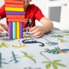 Children's Dinosaur Tablecloths - Dino Days Blue