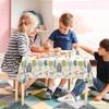 Children's Animal Tablecloth - Woodland Friends Cream