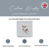 Christmas Napkins - Robin & Berries Light Grey (37cm)