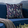 Christmas Cushions - Robin & Berries Navy