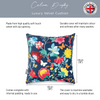 Opulent Velvet Cushion - Midsummer Night