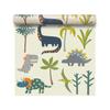 Children's Dinosaur Wallpaper - Dino Days Cream