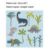 Children's Dinosaur Wallpaper - Dino Days Blue