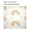 Children's Wallpaper - Bee a Rainbow Cream