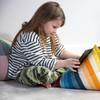 Tablet Beanbag - Pixel Stripes