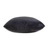 Opulent Super Soft Velvet Cushion - Graphite Grey - Available in 2 Sizes