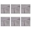 Celina Digby Luxury Stonewashed Linen Napkin Sets (40 x 40cm) - Light Grey
