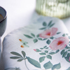 Celina Digby Luxury Eco-Friendly Recycled Fabric Napkin Sets - Rose Garden Natural - (40 x 40cm)