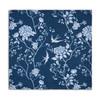 Celina Digby Luxury Eco-Friendly Recycled Fabric Napkin Sets - Cecylia Navy - (40 x 40cm)