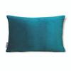 "Opulent Super Soft Velvet Cushion - Teal - Rectangular 51cm x 30cm (20"" x 12"") Size"