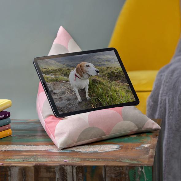 Tablet Beanbag - Scandi Hills Pink
