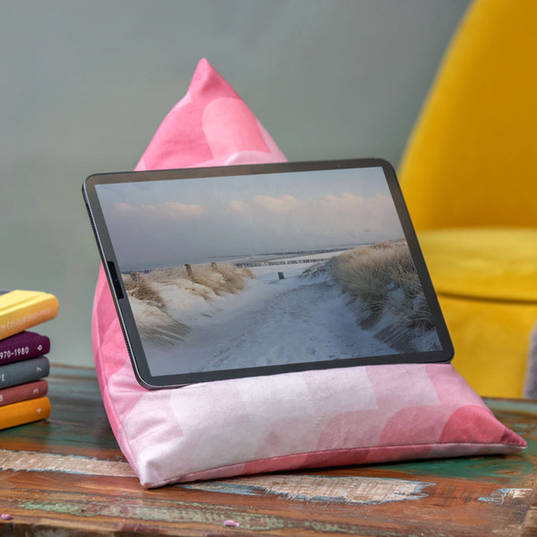 Tablet Beanbag - Radiant Pink