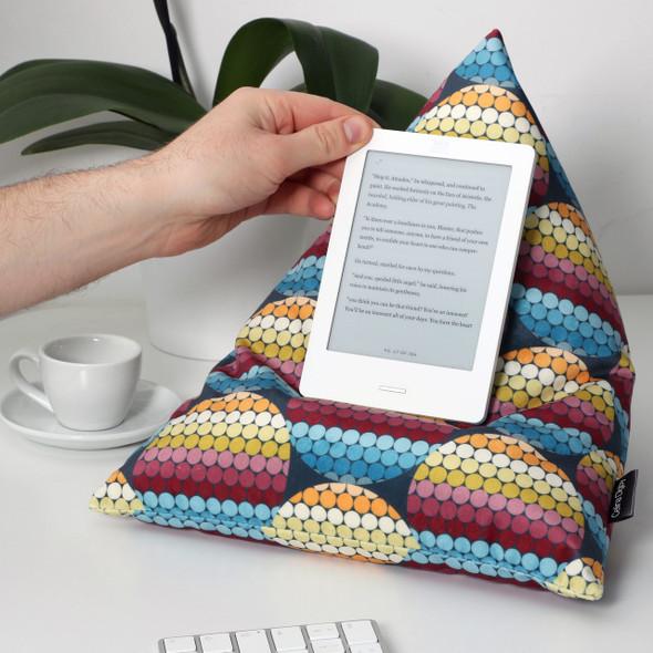 Celina Digby Designer Velvet Bean Bag - Pixel Discks