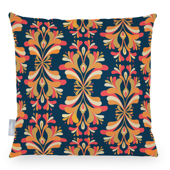 Opulent Velvet Cushion - Retro Damask