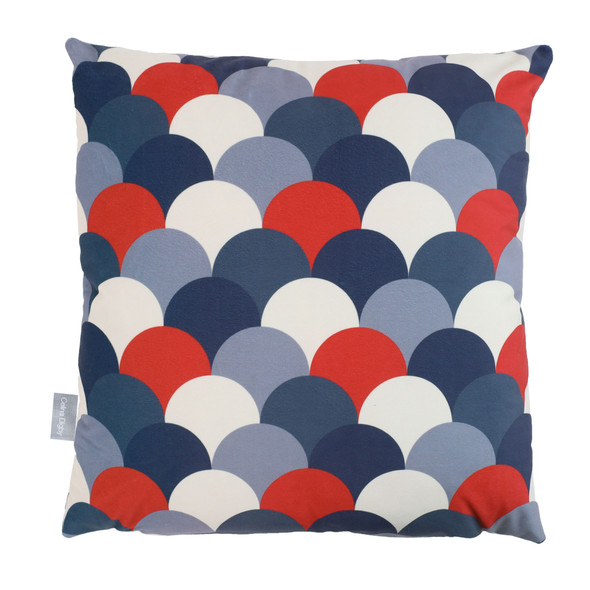 Opulent Velvet Cushion - Scandi Hills Navy