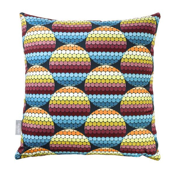 Opulent Velvet Cushion - Pixel Disks