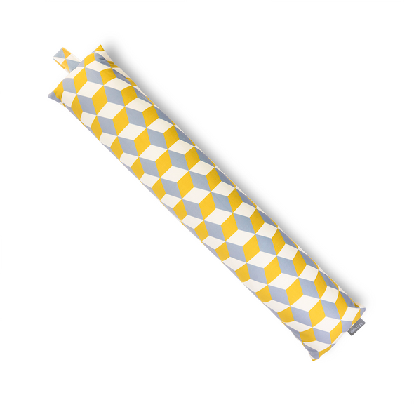 Draught Excluder - Cube Yellow
