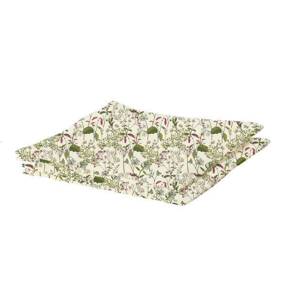 Waterproof Table Runner - Welsh Meadow Cream