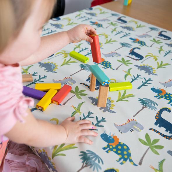 Children's Tablecloths - Dino Days Blue