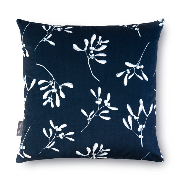 Christmas Cushions - Mistletoe Navy