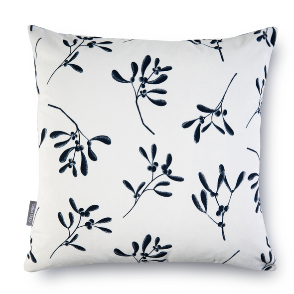 Christmas Cushions - Mistletoe Natural