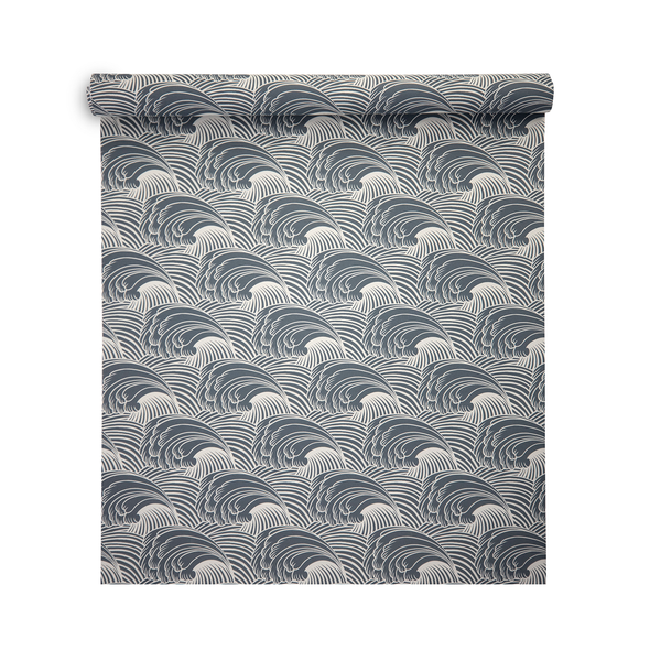 Geometric Wallpaper - Wave Flow