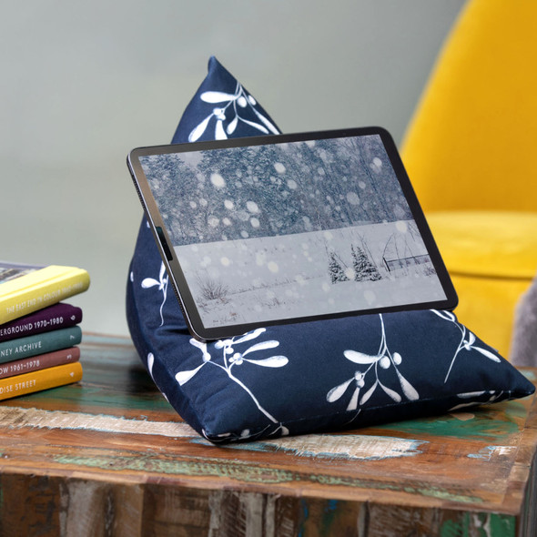 Tablet Beanbag - Mistletoe Navy