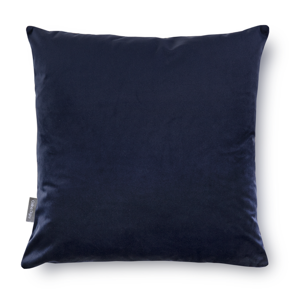 Opulent Velvet Cushion - Dark Navy
