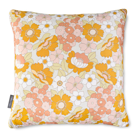 Opulent Velvet Cushion - Flower Power