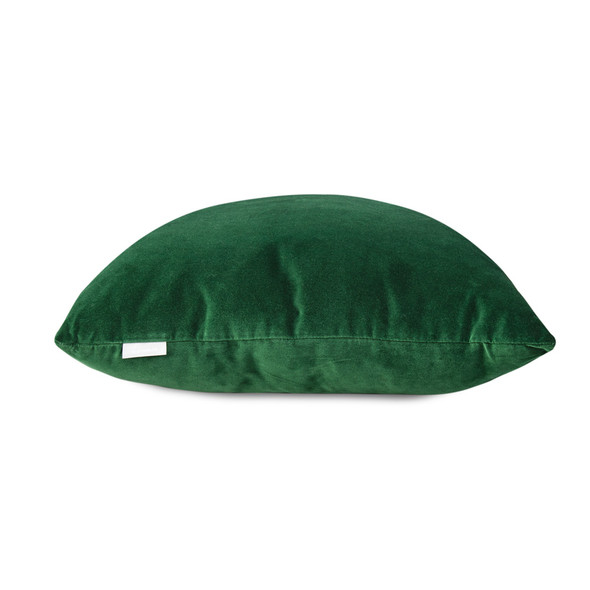 Opulent Velvet Cushion - Forest Green