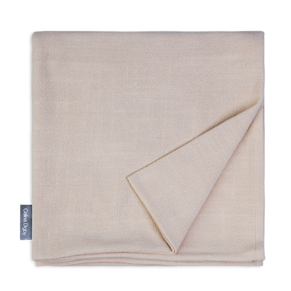 Celina Digby Luxury Stonewashed 100% Linen Tablecloth - Available in 7 Sizes - STONE (beige)