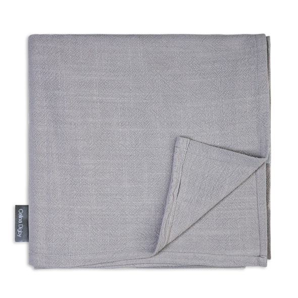 Celina Digby Luxury Stonewashed 100% Linen Tablecloth - Available in 7 Sizes - LIGHT GREY